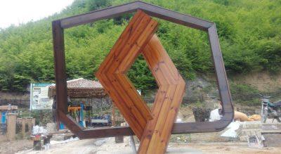 المان بنیاد مسکن گلستان روستای زیارت