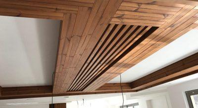 تامين چوب فضای داخلی ویلا