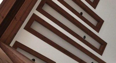 اجرای چوب در سقف