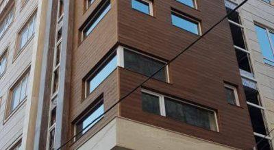 پروژه نما مسکونی واقع در اردبیل