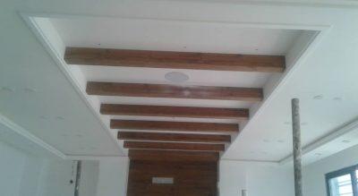 اجرای سقف داخلی منزل مسکونی