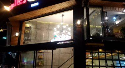 اجرای تابلو و فضای داخلی مغازه