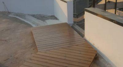 پروژه اجرا چوب ترمو دک واقع در نوشهر